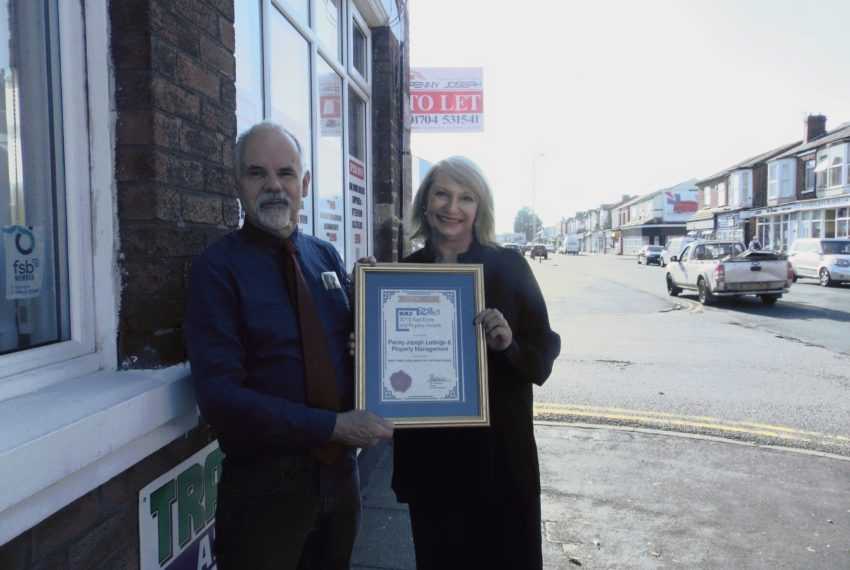 Southport Estate agent wins national award